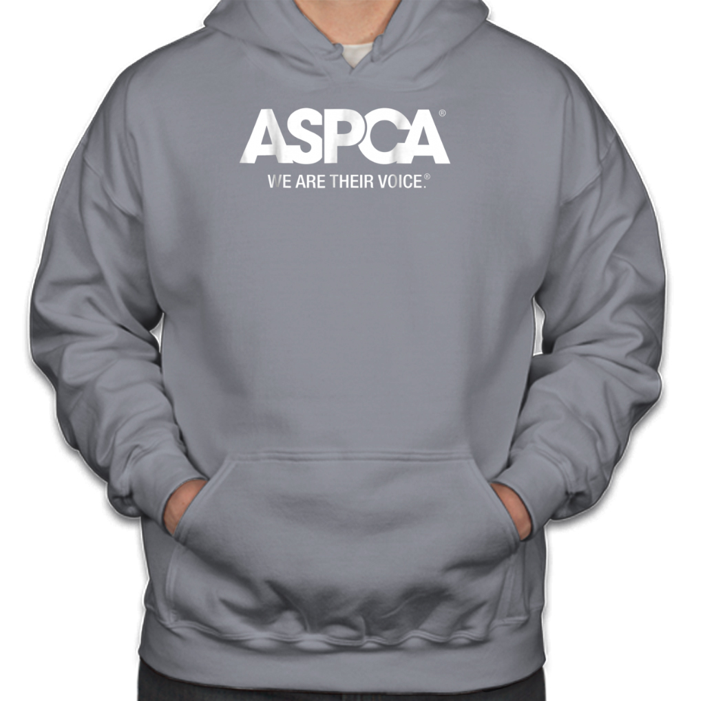 5637252212 Aspca We Are Their Voice Logo Hoodies – TeeFalcon LLC