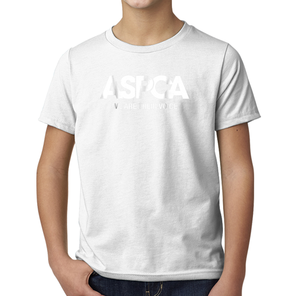 46213caec1 Aspca We Are Their Voice Logo Young T-Shirts – TeeFalcon LLC