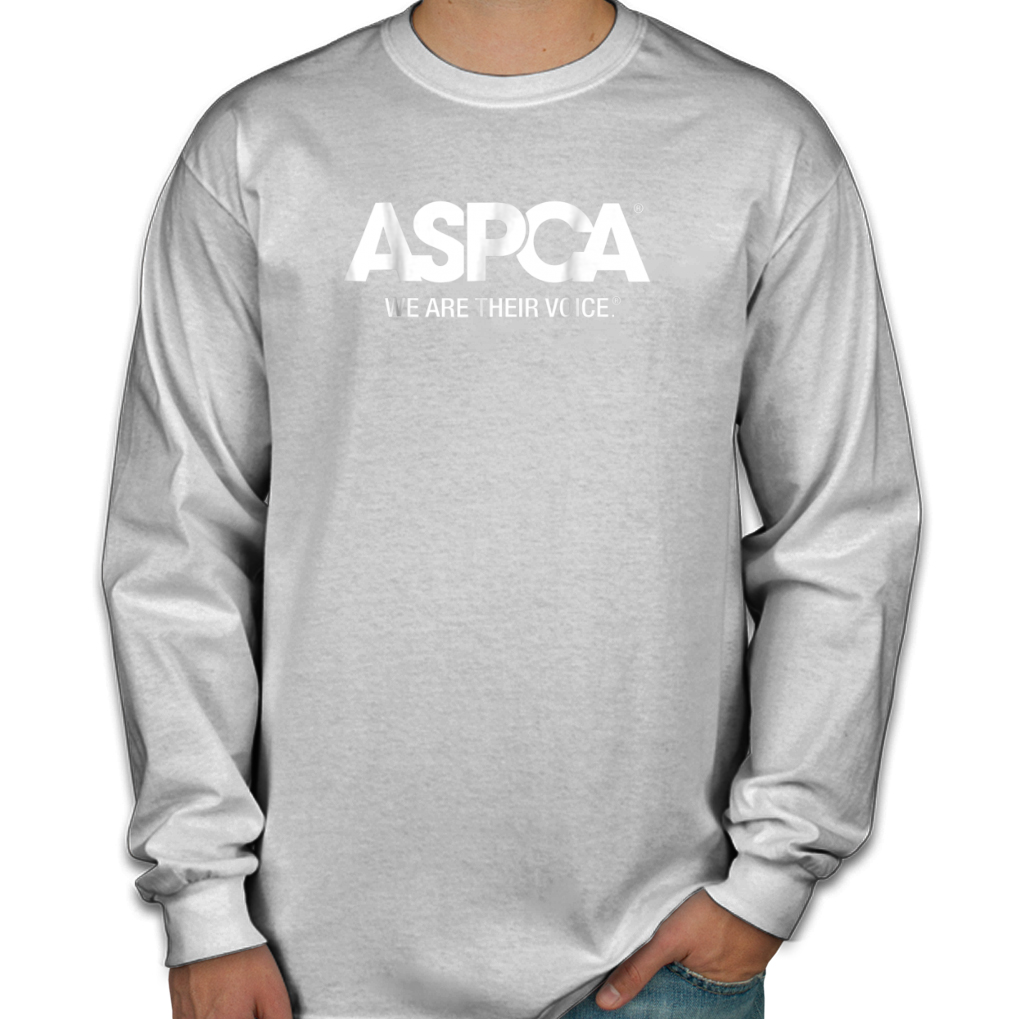 0f8f30b5a3 Aspca We Are Their Voice Logo Men s Long Sleeve Shirts – TeeFalcon LLC