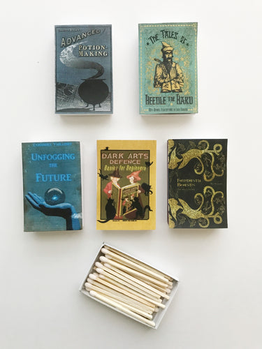 Harry Potter Spell Books Matches