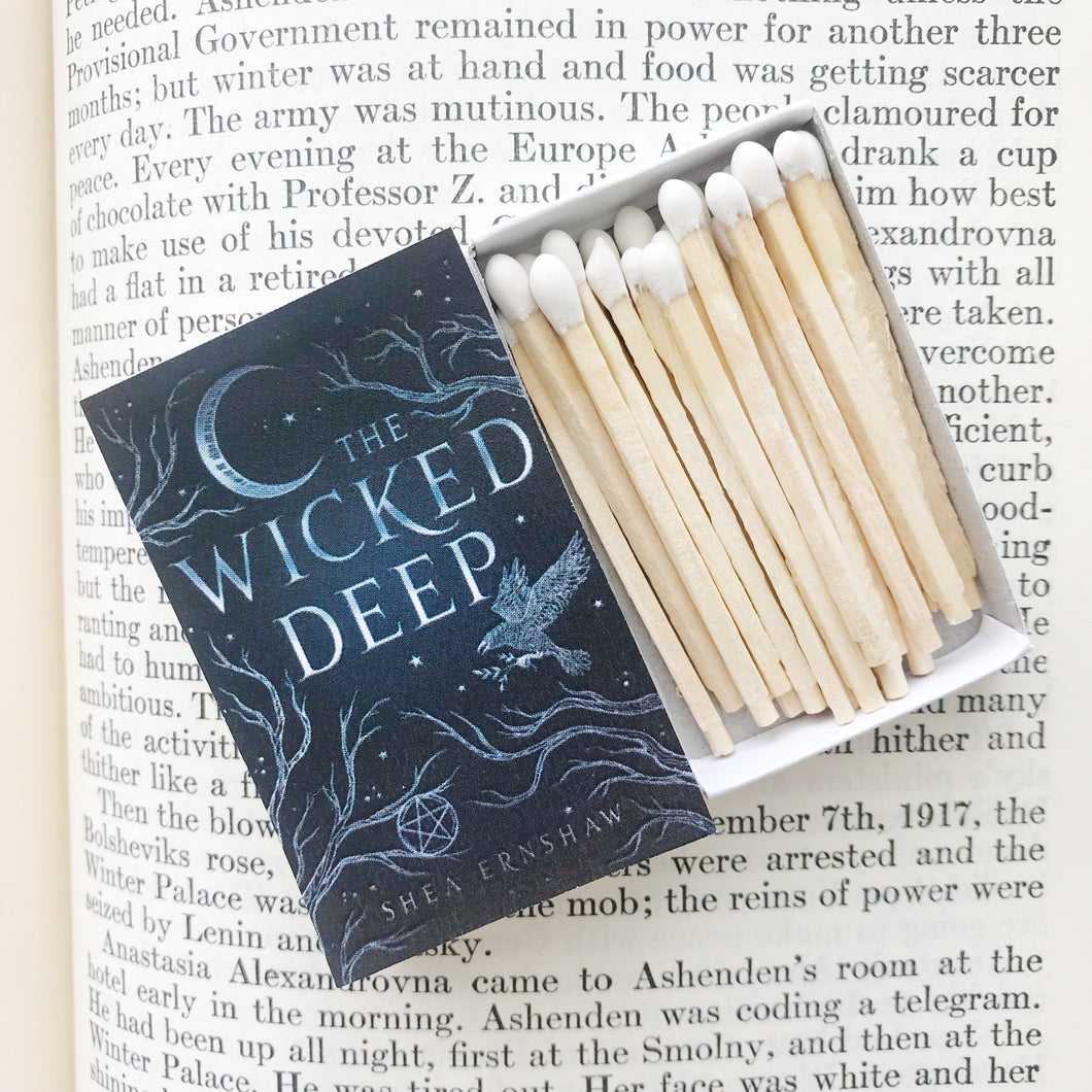 The Wicked Deep Book Matches