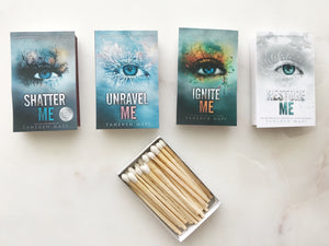 Shatter Me Series Book Matches
