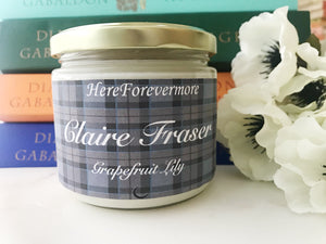 Claire Fraser Soy Candle