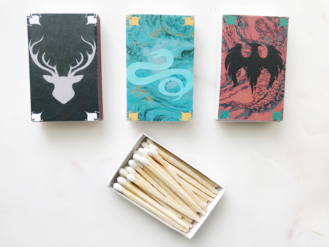 Shadow and Bone Series Inspired Book Matches