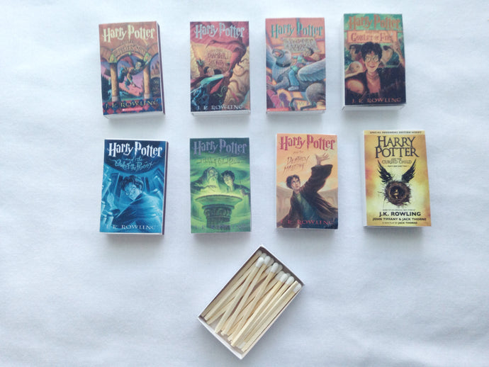 Harry Potter Book Matches