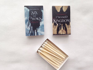 Six of Crows Series Book Matches