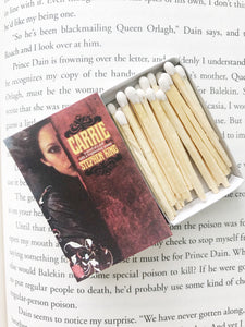 Carrie Book Matches
