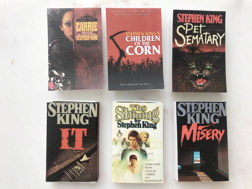 Stephen King Book Matches