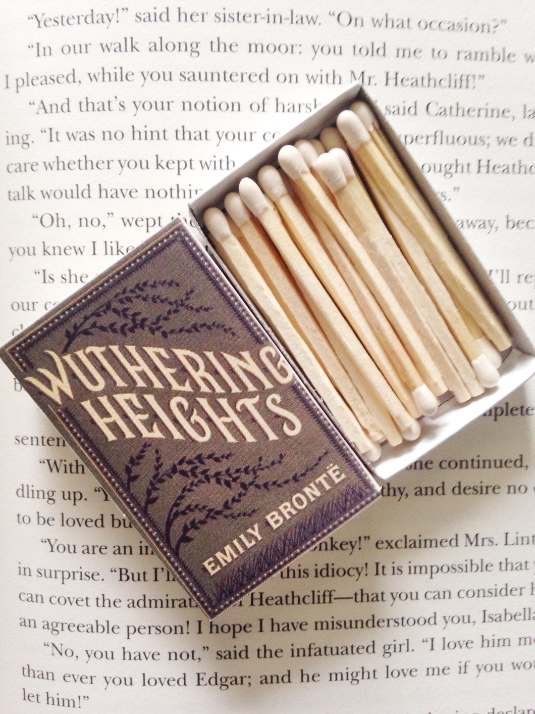 Wuthering Heights Book Matches