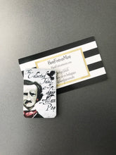 Load image into Gallery viewer, Edgar Allan Poe Book Magnet