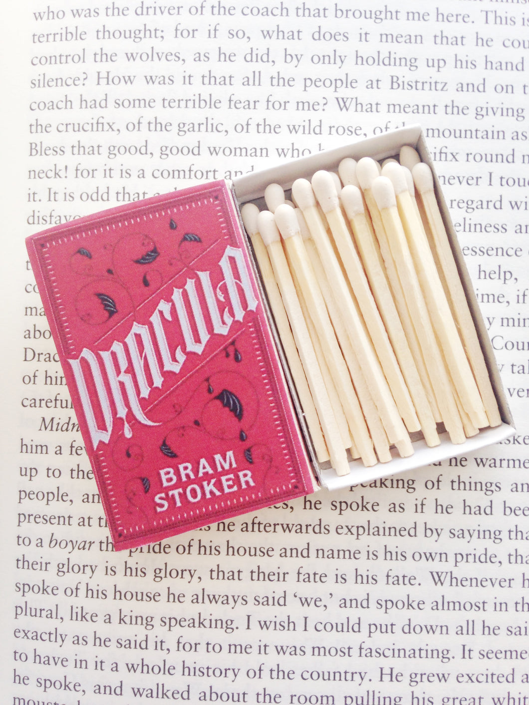 Dracula Book Matches