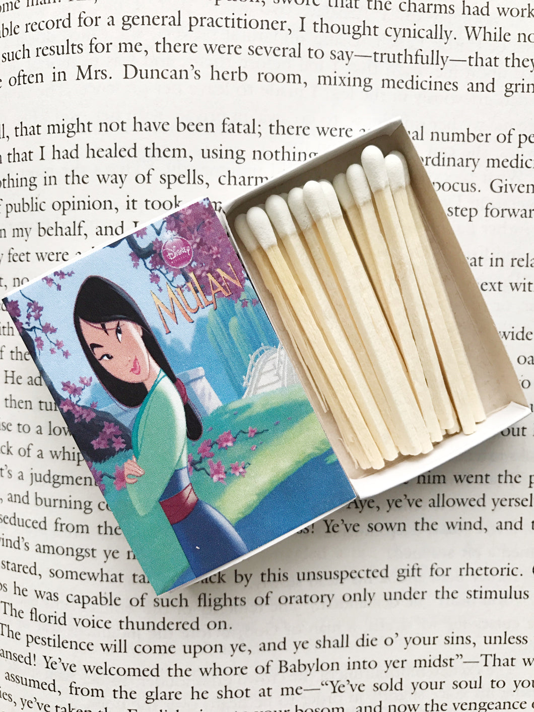 Mulan Book Matches