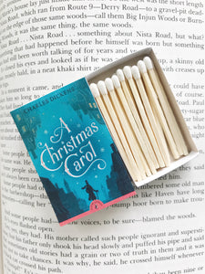A Christmas Carol Book Matches