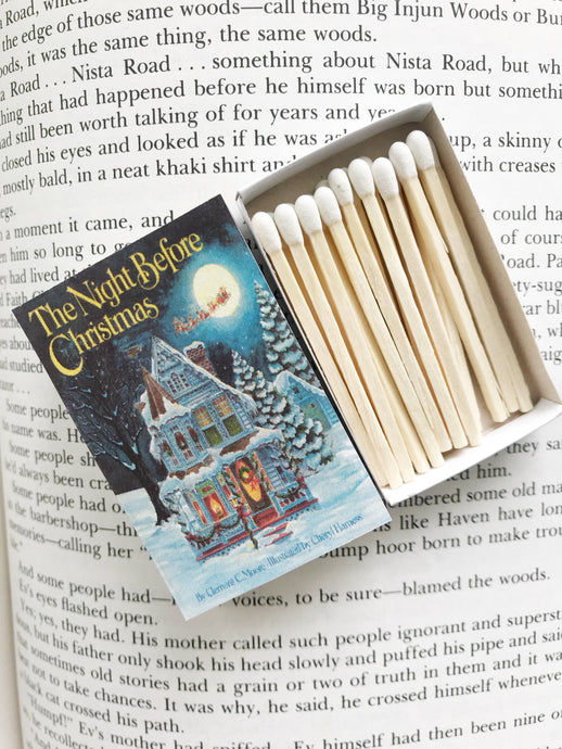 The Night Before Christmas Book Matches
