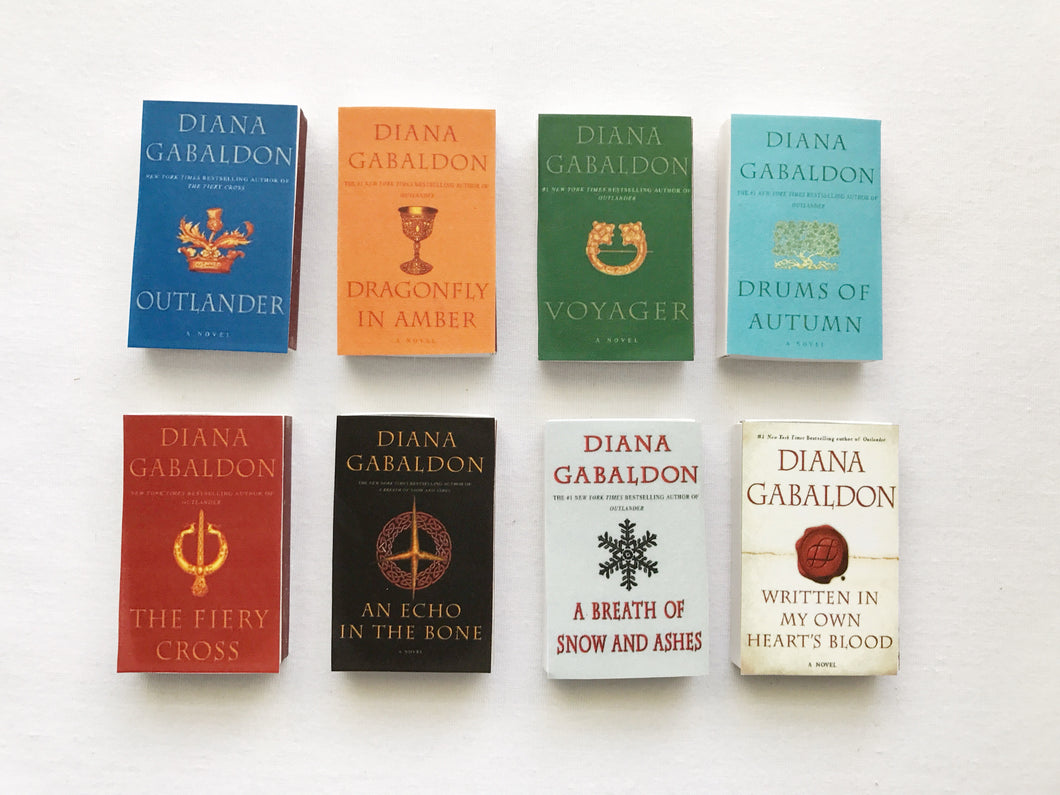 Outlander Series Book Matches