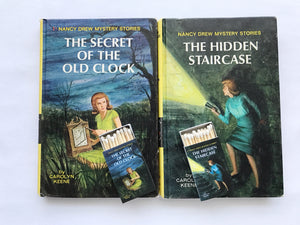 Nancy Drew: The Hidden Staircase Book Matches