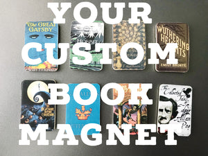Your Custom Book Magnet