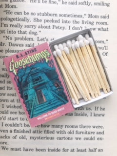 Goosebumps Book Matches