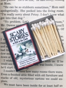 Scary Stories to Tell in the Dark Book Matches