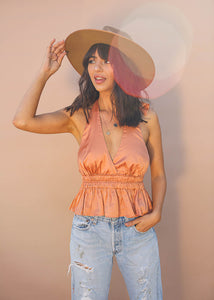 Orange Pop Halter