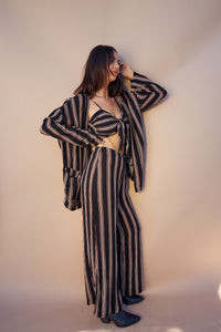Stripe It Up Kimono