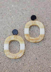 Julia Earrings-Yellow