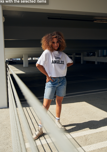 LOS ANGELES Cropped Tee