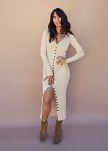 Hourglass Sweater Dress