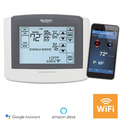 Aprilaire Universal Touch Screen Wi-Fi IAQ Thermostat 8910W