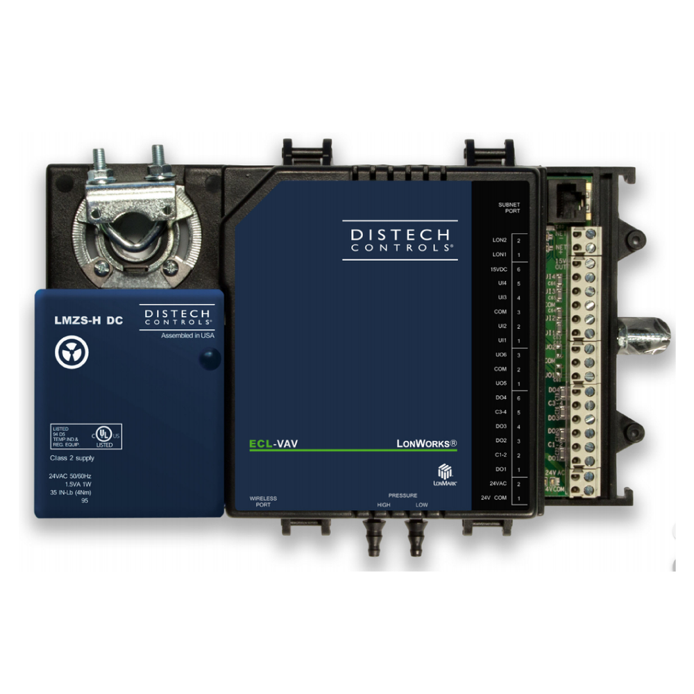 ECL-VAV Single-Duct Controller Distech Controls