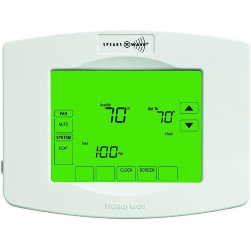 Honeywell Z-Wave Touchscreen Programmable Thermostat RTH8580ZW1001