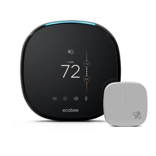 Ecobee4 Wi-Fi Smart Thermostat Room Sensor & Built-In Amazon Alexa EB-STATE4P-01