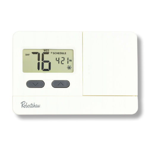 Robertshaw Economy RS3000 Series Programmable Thermostat RS3110