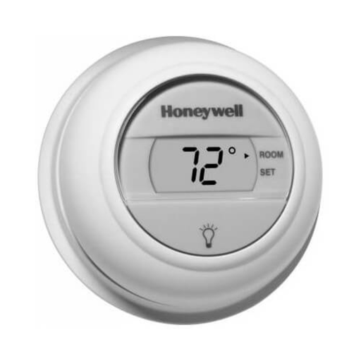 Honeywell Digital Round Heat Only Thermostat T8775A1009