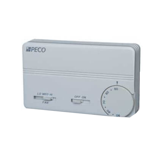 PECO Multi Voltage 24-277 Heat/Cool Commercial Thermostat TA155-047