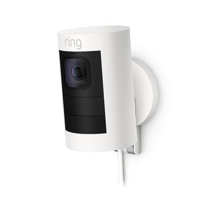 Ring Stick Up Cam Wired White 8SS1E8-WEN0