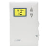 LuxPro Lux Heat ONLY Non-Programmable Thermostat Back-Lit, No-Fan, Limits, Vertical PSD010B