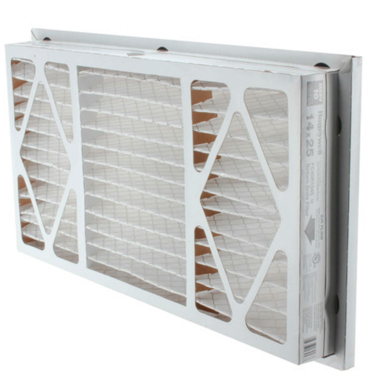 "Honeywell 14"" x 25"" Return Grill Air Filter FC40R1045"