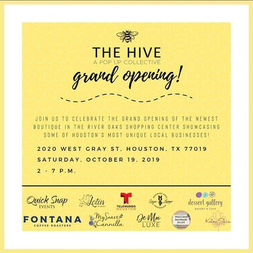 The Hive - A Pop Up Collective Grand Opening!