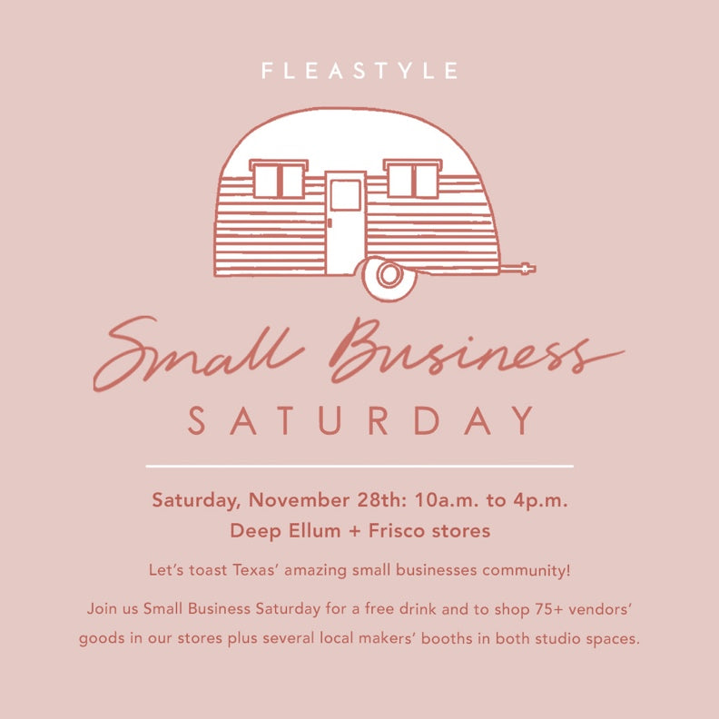 Small Business Saturday- At Flea Style