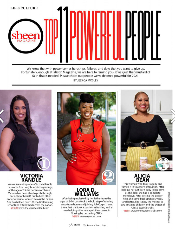 Sheen Magazine: Top 11 Powerful People of 2021