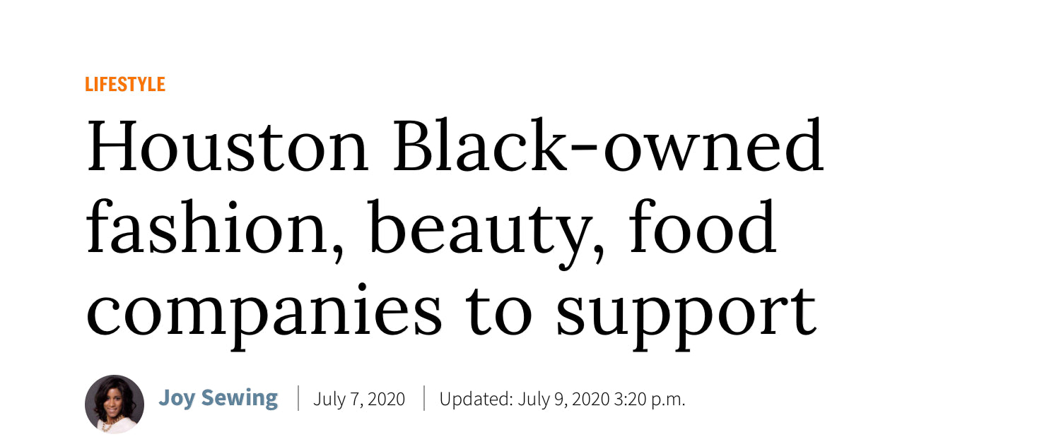 Houston Chronicle: Houston Black Owned List