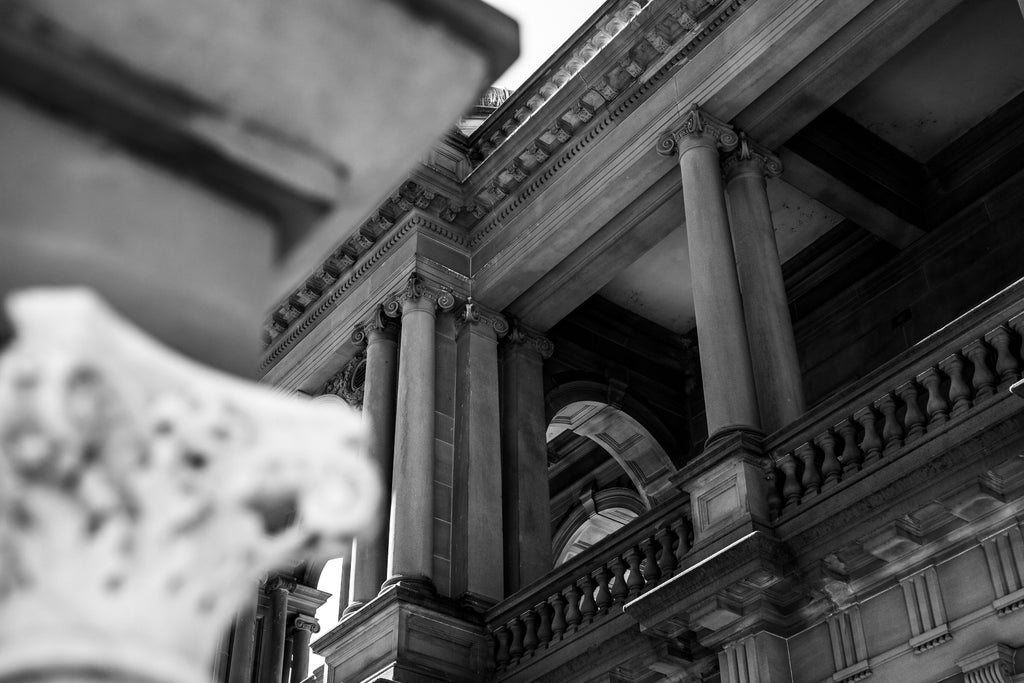 Newcastle Post Office Palladian Classical architecture
