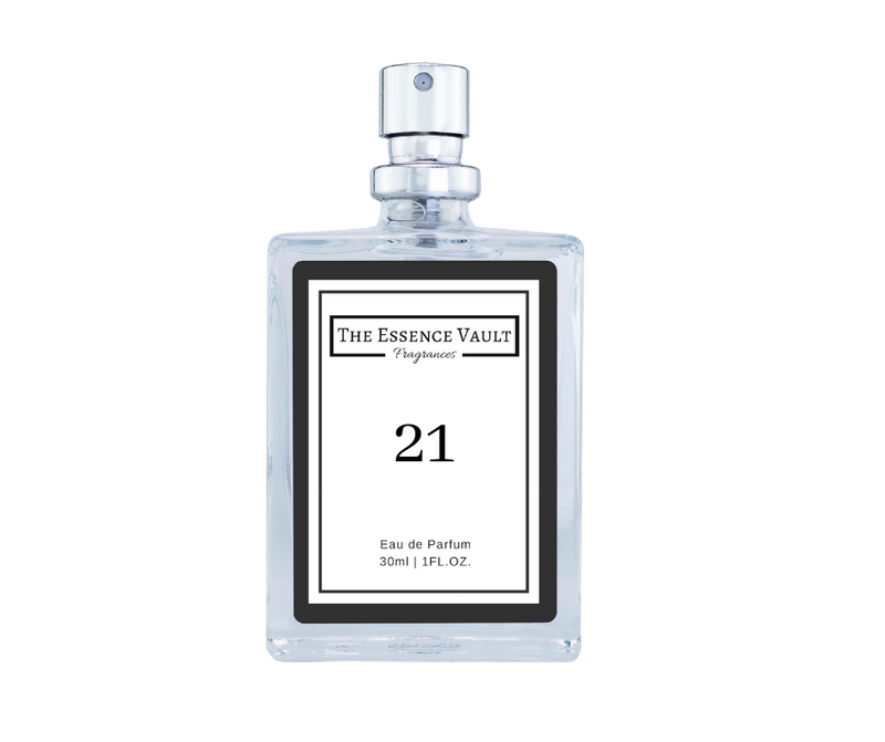 Inspired by Bergamot, Jasmine and Vetiver - 21