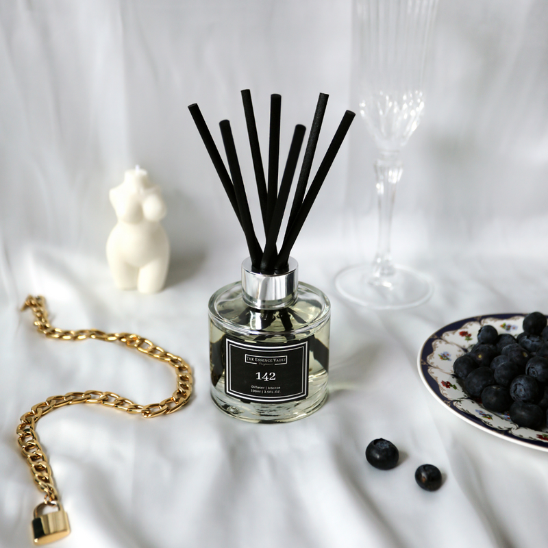 Inspired By Pomegranate Noir - 142 - Home Reed Diffuser