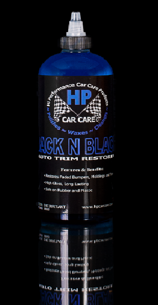 HP Car Care Back N Black Trim Restorer & Dressing: