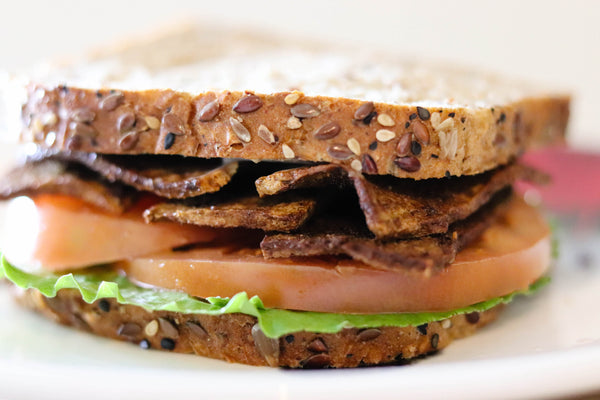 "Pantry Project: Tofu ""Bacon"" BLT"