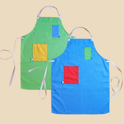 Colorblock Apron