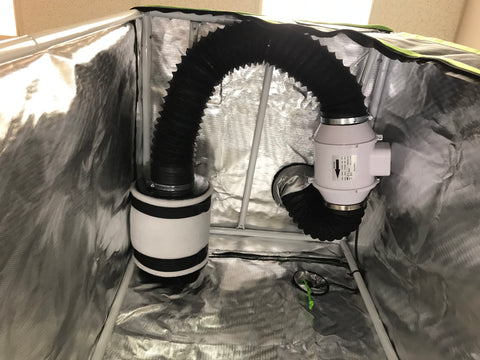 Fan and Charcoal Filter installation