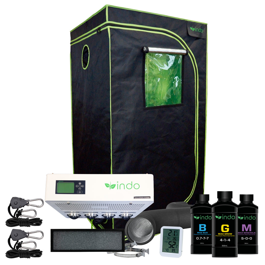 "GrowHub™  1200C 300W Complete Grow Kit - 36"" x 36"" x 72"" 1680D Tent"